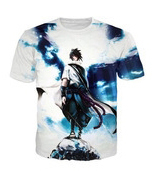 2017 new Naruto 3d Print T-shirt Uzumaki Naruto &uchiha Sasuke Design T-shirt 3d Customized And Design T-shirt