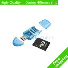 High Quality USB 2.0 SD SDHC MMC MEMORY CARD READER FOR 4GB 8GB 16GB 32GB