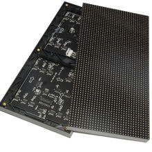 A SMD RGB Full Color P4 LED Display module high resolution Indoor  128*128mm 32*32 pixel 1/16 scan Video Wall Screen
