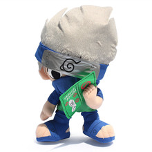30cm Japanese Anime Naruto Hatake Kakashi Plush Toys Doll Soft Stuffed Toys Figure Toy for Kids Children Christmas Gifts