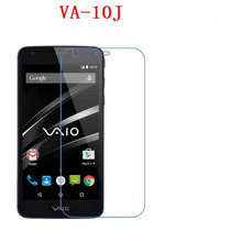 3 PCS HD phone film PE touch preserving eyesight for Sony va-10j vaio Phone VA-10J screen protector +Wipe wipes(China)