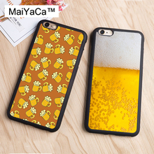 MaiYaCa Everyone Loves Beer Alcohol Cell Phone Case For iphone 6 Case Soft Rubber Cover Fashion Cases For iphone 6S 6 Capa
