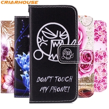 For Samsung Galaxy A3 A5 A7 2017 J1 J3 J5 J7 2016 2015 S3 S4 S5 S6 Galaxy Core Prime G530 G360 G355 pu leather phone case flip(China)