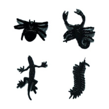20pcs/ a lot Soft Plastic Animal Model House lizard/ Scorpion /centipede Funny Toys for Children Wholesale(China)
