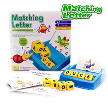 Children learning English education toys matching letter spelling words interatctive games toys(China)