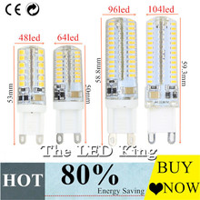 G9 G4 Led Light Bulbs 220V 12V 7W 9W 10W 11W Corn Bulb 360 degrees 3014 Lamp High Quality Chandelier Light Replace Halogen Lamp