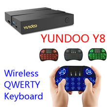 YUNDOO Y8 Smart TV Box Android 6.0 Media Player ARM Mali-T860MP4 Max 4G/32G 4K RK3399 Wifi Output Set Top Box TV Cortex-A72