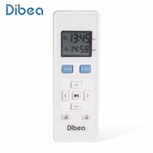 New White Remote Control for Dibea D960 Floor Vacuum Cleaner Carpets Cleaning Household Appliance(China)