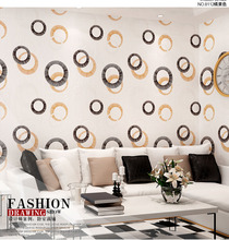 10m Waterproof Circle Classical Wallpaper for Wall 3d Living Room Mural Rolls Kitchen Cupboard Wall  Paper Background Decor