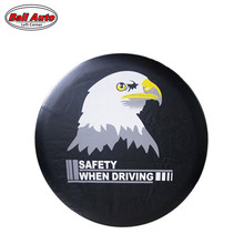 Left Corner   Factory direct sale  PVC car spare wheel cover  spare tire cover  for SUV 4WD RF-CY-17 accept Paypal
