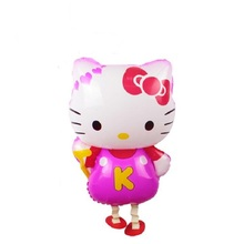 50pcs/lot Large Hello kitty walking pet balloons Promotional toys Children toys balls Helium balloons