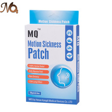 100Pcs=5 Boxes Health Care Behind Ear Motion Sickness Patch for Children/Adults Herbal Patch For Travel Nausea and Vomiting(China)