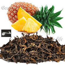 Beautiful Tea strainers+gift Pineapple Flavor Puerh Tea,Fruit flavor Loose Leaf Pu'er,Slimming Ripe Pu-erh,CTX809