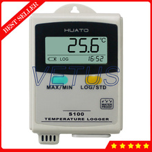 S100-TH+ 0.3C Accuracy Digital Data Logger Temperature Humidity Recorder for Use in Cold-chain Transportation HVAC Refrigerator