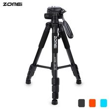 Original Zomei Q111 Professional Tripod Lightweight Portable Pro Aluminium Tripod Camera Stand with Pan Head for Digital Dslr