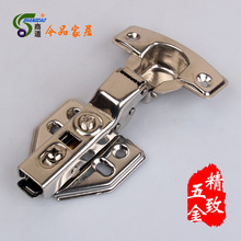 [business] 1.5 hardware quick detachable mute stainless hydraulic damping hinge / cabinet door hinge