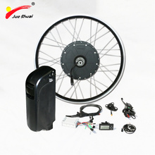 "26"" 700C front rear motor wheel 48v kettle lithium ion battery electric bike kit 1000w powerful electric motors for bikes kits(China)"