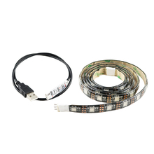 50-150CM 5050 USB Led Strip 30leds RGB Warm white 5V light Waterproof for TV Background Computer home car kid room decor R