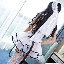 Buy 7 Colors Wedding Dress Bridal Transparent Romantic Nightgown Exotic Apparel Sexy Costume Selebritee Sexy Lingerie Hot BabyDoll