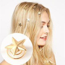 T401 Hot 2017 Girl New Bijoux Hair Clips Star Hair Sticks love Peach Hagiwara headbands For Women Wedding jewelry One Direction(China)