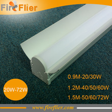 9pcs/lot 0.9m 1.2m 1.5m industrial led linear light 60w led tubes fixture 4feet 5feet 3feet warehouse panel tubes 20w 30w 40w