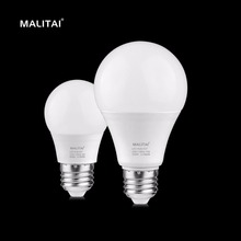 1X Real High Quality Enough Watt LED lamp 3W 5W 7W 9W 12W E27 220V LED Ball Bulb Good Heat Dissipation long Lifespan Spot light(China)