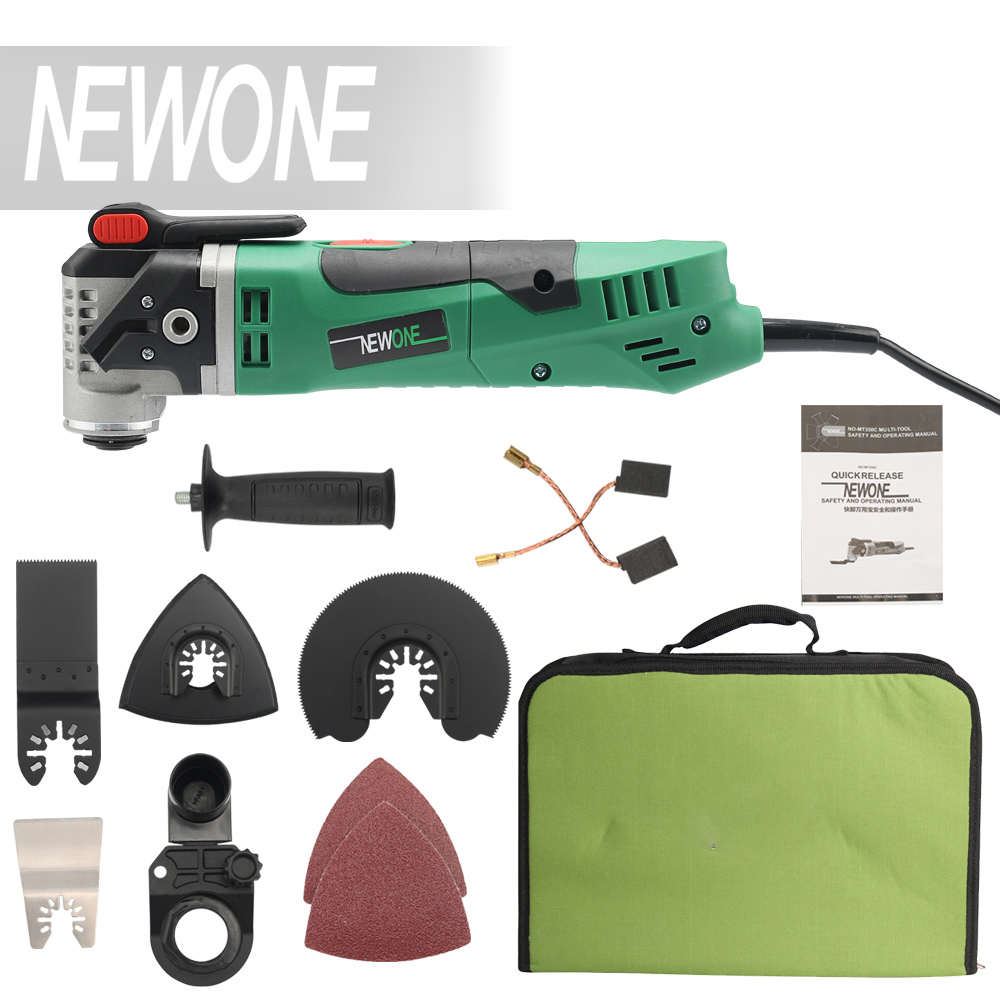 NEWONE Multi-Function Electric Saw Renovator Tool Oscillating Trimmer Home Renovation Tool Trimmer woodworking Tools<br>