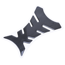 Universal Fishbone Carbon Fiber 3D Motorcycle Fuel Gas Oil Tank Pad Protector Decal Sticker For Kawasaki Ninja Honda Harley Bike(China)