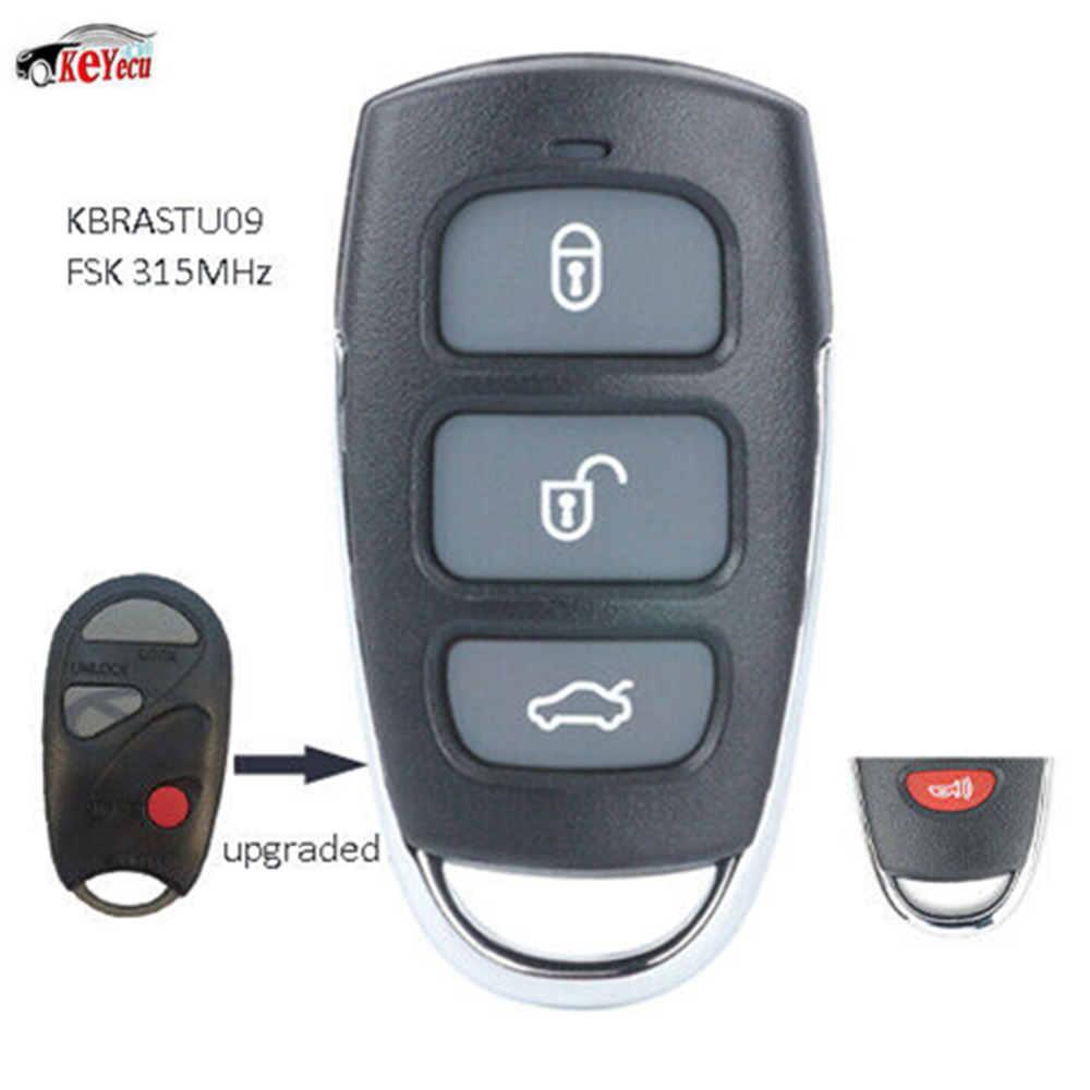 2 Replacement For 1997 1998 1999 Infiniti QX4 QX 4 Key Fob Shell Case
