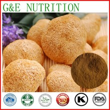 GMP factory best products High Quality Monkey Head Mushroom Extract/ Hericium Erinaceus Extract 10:1   200g