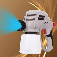 100W removable high voltage electric spray gun, nozzle adjustable spray machine, flow control paint,Electric spray gun(China)