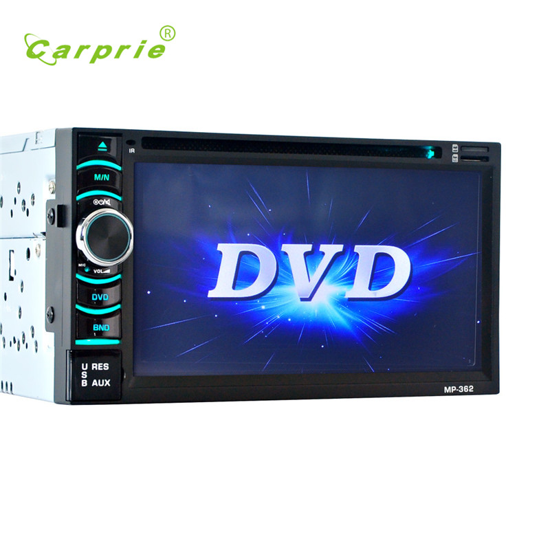 2017 new fashion 6.5 Double 2DIN Touch Car Stereo CD DVD Player Bluetooth USB SD AM FM TV Radio ses quality hot 17june2(China (Mainland))