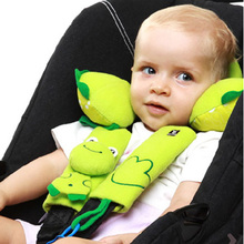 cartoon for Kids Safety Belt Plush Seat harness Shoulder Pad Cushion Car stroller pram safety seat belt cover 2pcs One Pair