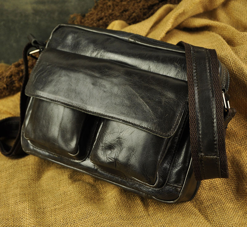 New Fashion Real Leather Multifunction Male Casual messenger bag Satchel cowhide 10 Cross-body Shoulder bag For Men 8820<br>