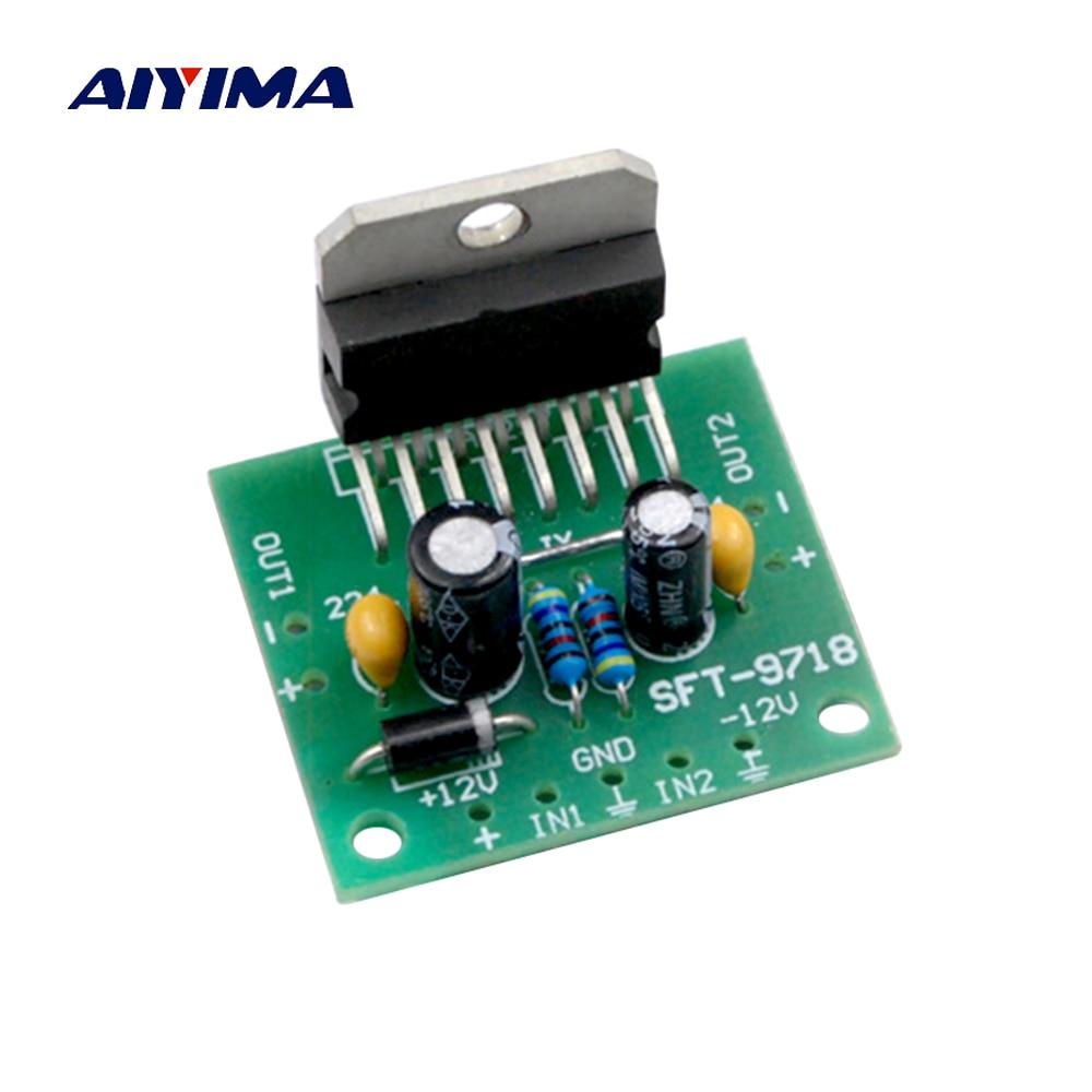 Aiyima 5pc 8002 Mono Amplifier Board 3w Mini Audio Module Sub 150w 8ohm Subwoofer Circuit 35 150hz 2sa1943 Tda7297 20 Dual Channel 15w Finished