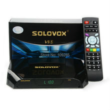 Solovox V9S 1080P HD FTA Satellite Receiver, With build in wifi, Support WEB TV CCCAMD NEWCAMD Miracast IPTV Box(China)