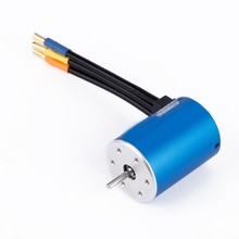 4Poles RC Brushless Motor ESC Sensorless Slotless for 1/10 Racing Car Motor Brushless ESC For 1/10 RC Car Spare Part Accessories(China)