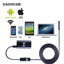 Mini 1M 2M 5M  wireless Endoscope Wifi Hidden for iOS Android Borescope spy HD 720P 2.0MP Tube IP67 Waterproof Inspection Camera