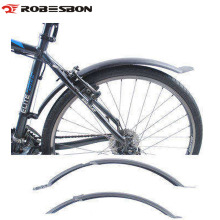 ROBESBON Bike Wings Road Mountain Bike Bicycle Front Rear Mudguard Fender Set Mud Guards Wings To Bicycle Front/Rear Racks