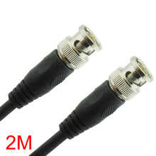2M/6.56FT BNC Male to BNC Male Connector RG59 Coaxial Cable For CCTV Camera