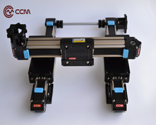 CCM W60-35 750mm premium belt driven linear rails long stroke length servo motor available large load belt drive systems.(China)