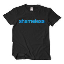 2017 new t shirt US drama shameless beauty of the United States shameless family shameless short sleeve t-shirt cotton(China)