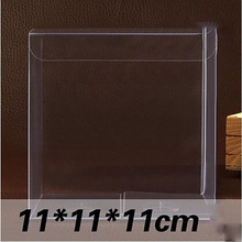 Wholesale 11*11*11cm Clear PVC Box 30 Pcs/Lot Packing Wedding/Christmas Cupcake/Chocolate/Candy/Apple/Gift/Candle/Toys Box