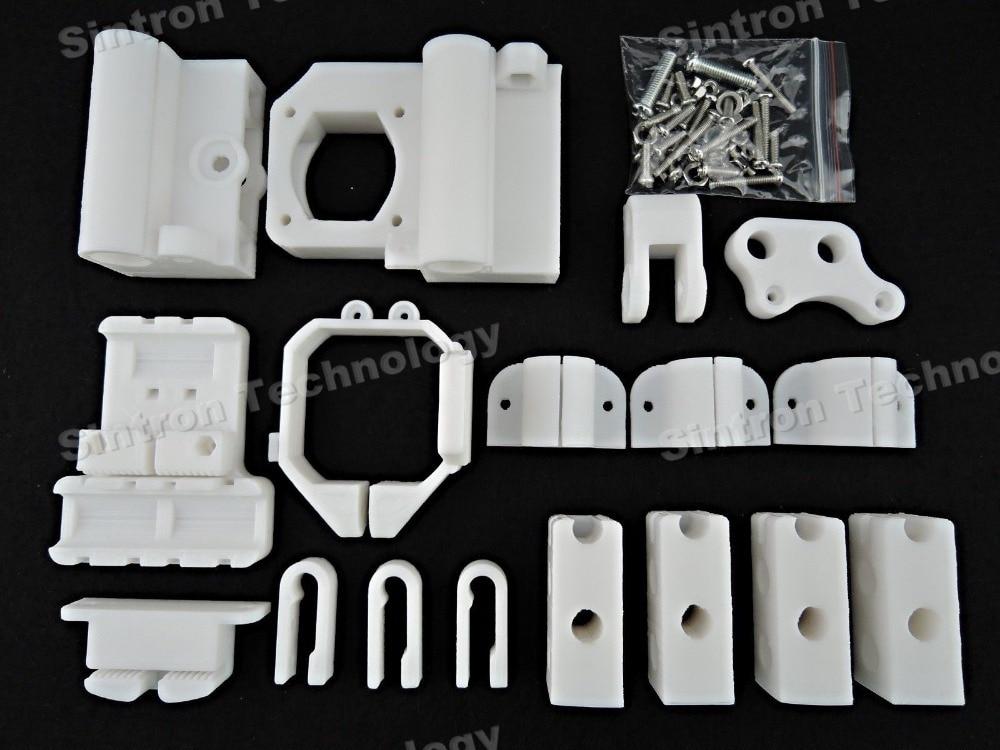 [Sintron] 3D Printer PLA Plastic Printed Part Frame Kit for MK8 Extuder Reprap Prusa Mendal Prusa i3,Free Shipping<br><br>Aliexpress