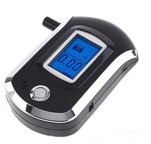 Digital Alcohol Breathalyzer Breath Tester LCD Breathalizer Tester Device Machine(China)