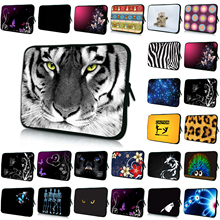 7 8 9.7 10 Inch Mini PC Tablet 10.1 11.6 12 13 14.1 14.4 15.4 15.6 17 inch Animal Prints Netbook Notebook Laptop Shell Case Bags(China)