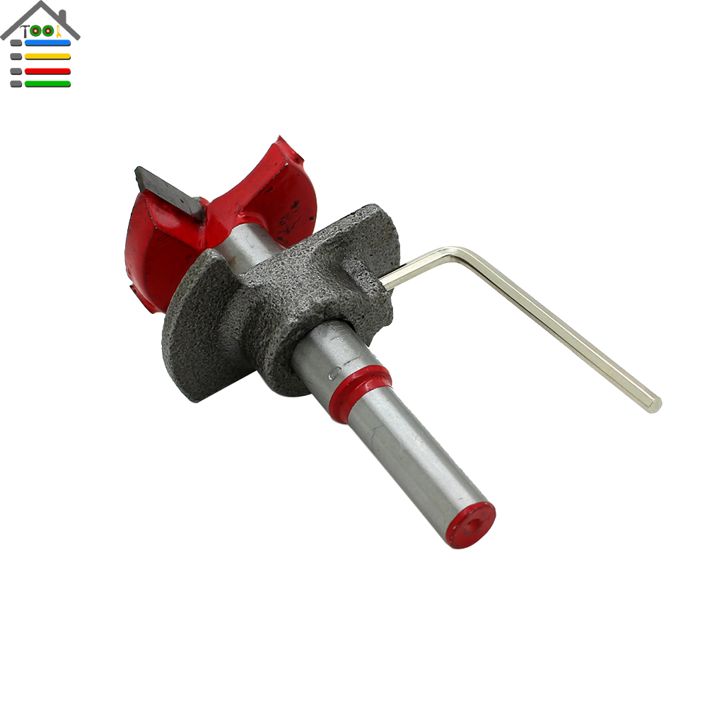 New 1PC Cemented Carbide 35mm Woodworking Drill Bit Hinge Cutter Boring Forstner Bit Tipped Drilling Tool(China (Mainland))