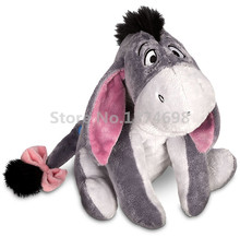 New Eeyore Donkey Plush Doll Toy 30cm Cute Stuffed Animals Kids Toys for Children Gifts