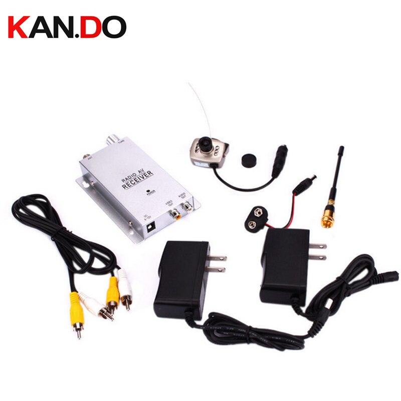 6 IR LED night vision WIRELESS Security CCTV Camera 1.2G receiver 1.2G wireless kits wireless camera baby monitor camera<br>