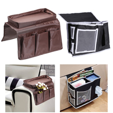 Multi-purpose Storage Bag Organizer Remote Control Holder Pocket Sofa Bedside Paper Towel Debris Magazines Tray Storage